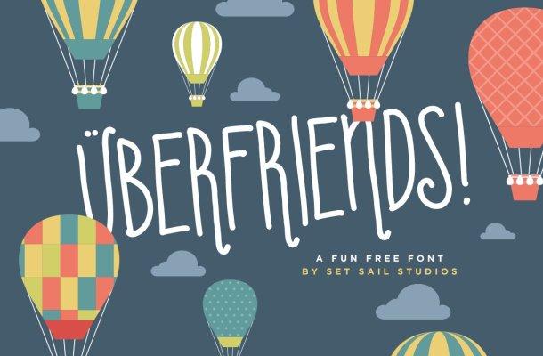 Uberfriends Font