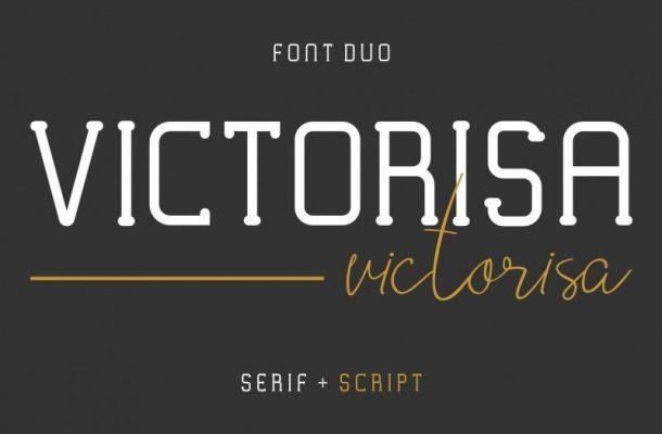Victorisa Typeface