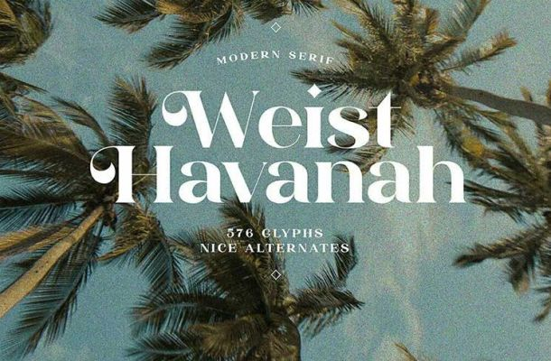 Weist Havanah Font