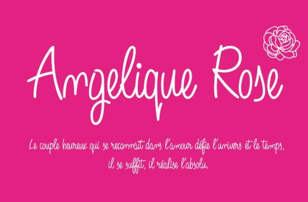 Angelique Rose Font