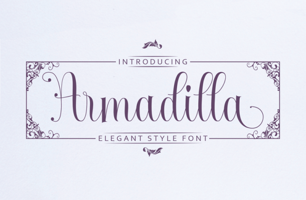 Armadilla Font