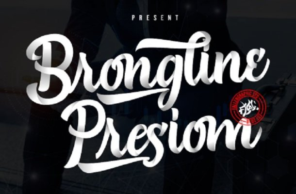 Brongline Presiom Font