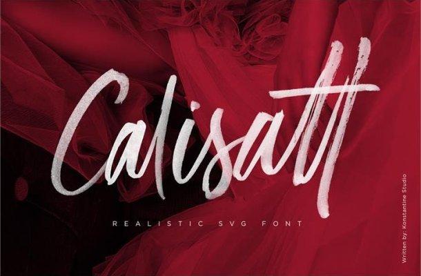 Calisatt Handwritten Font
