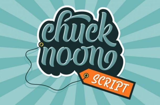 Chuck Noon Script Demo Font