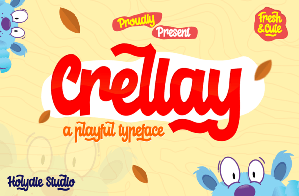 Crelay Font