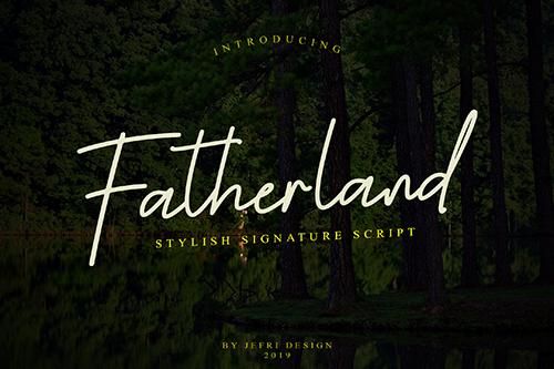 Fatherland Font
