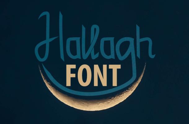 Hallagh Font