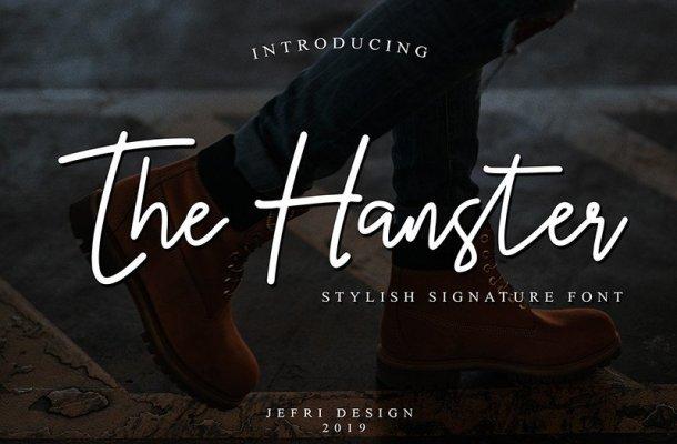 Hanster Handwritten Font