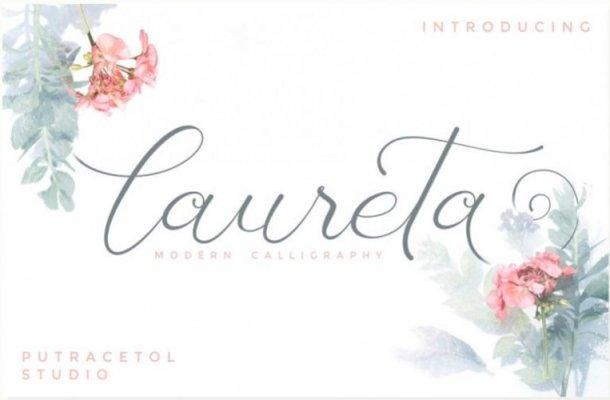 Laureta Script Font