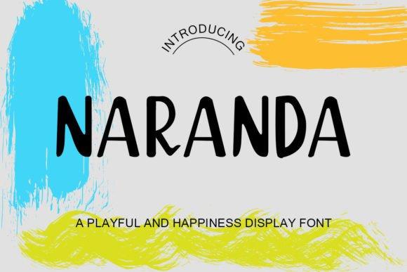 Naranda Display Font