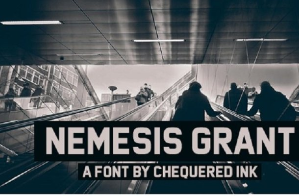 Nemesis Grant Font