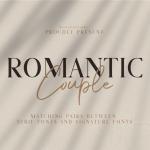 Romantic Couple Script Font