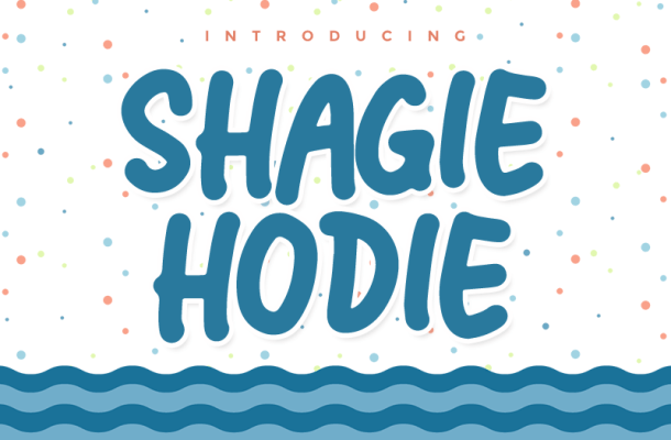 Shagie Hodie Font