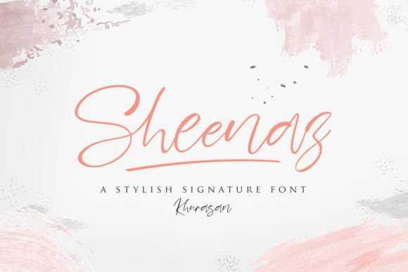 Sheenaz Handwritten Font