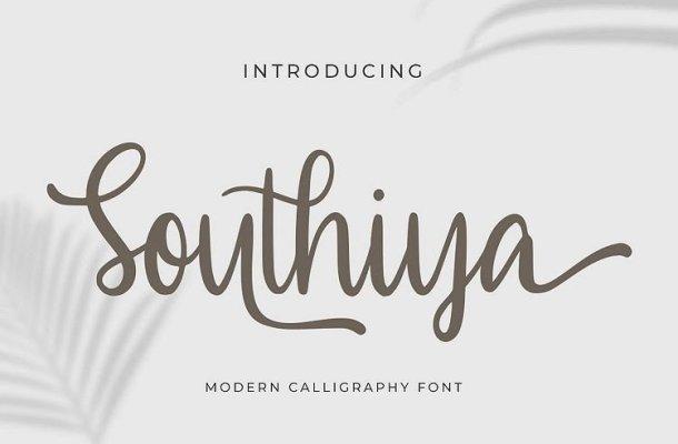 Southiya Script Font