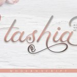 Tashia Script Font