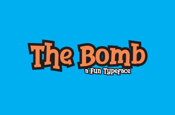 The Bomb Font