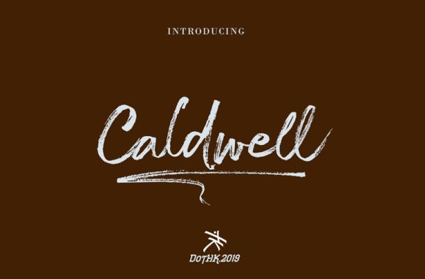 The Caldwell Script Font