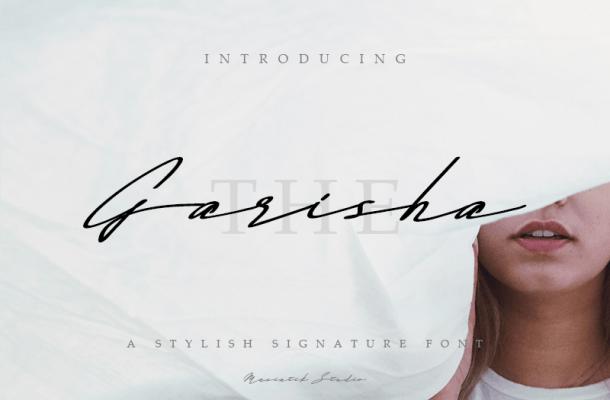 The Garisha Font