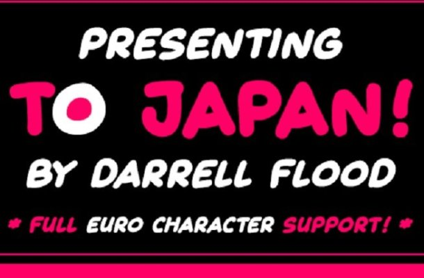 To Japan Font