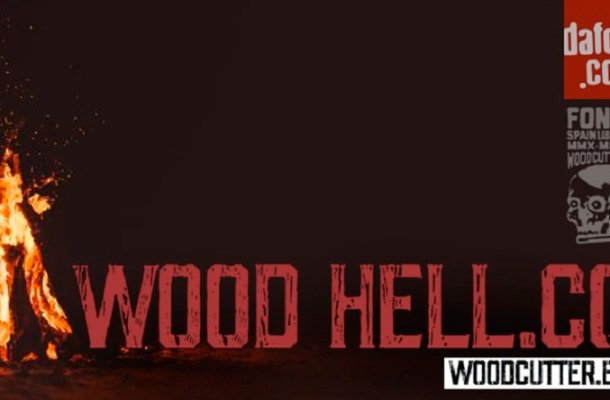 Wood Hell Company Font