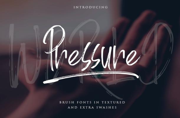 World Pressure Font