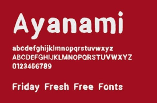 Ayanami Font
