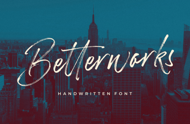 Betterworks Script Font