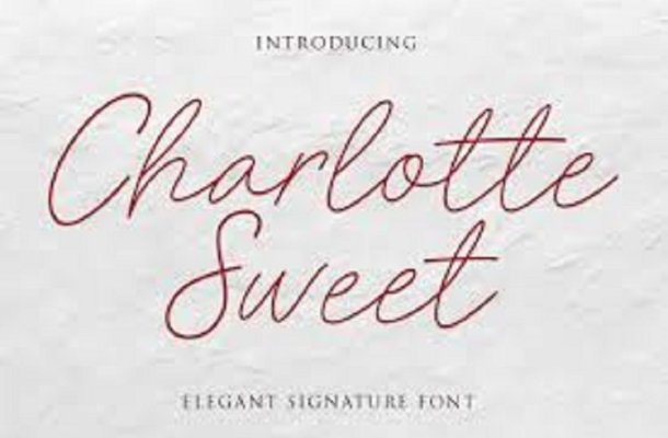 Charlotte Sweet Font
