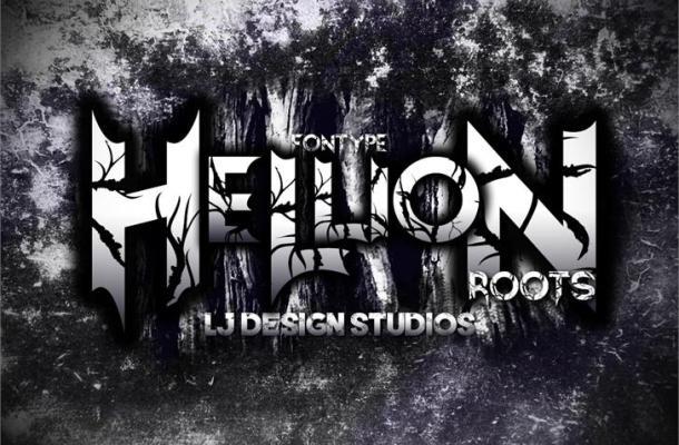 Hellion font