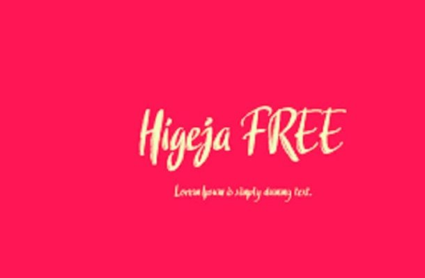 Higeja Font
