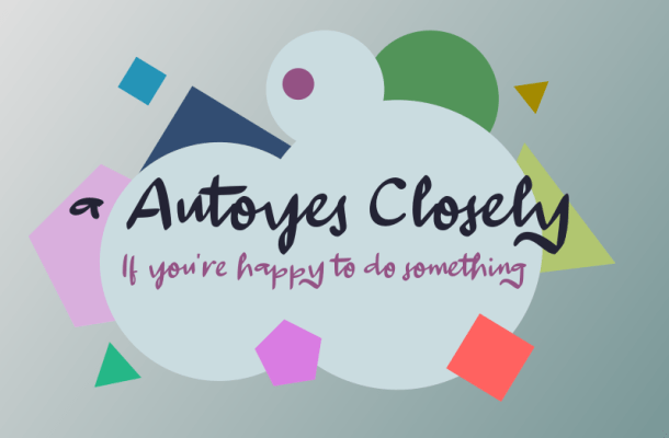 A Autoyes Closely Font