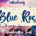 Blue Rose Script Font