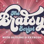Bratsy Script Font