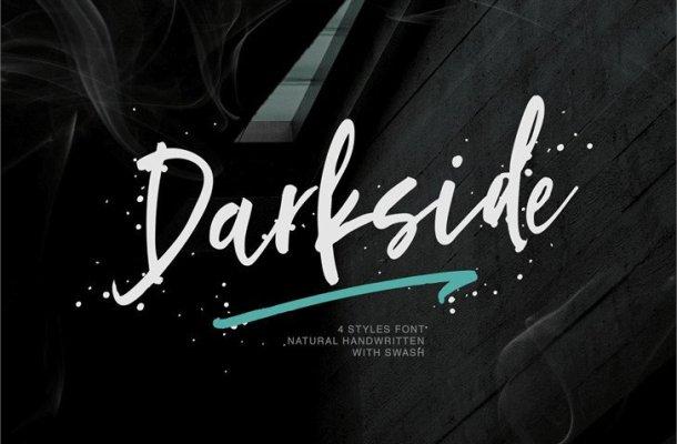 Darkside Handwritten Font