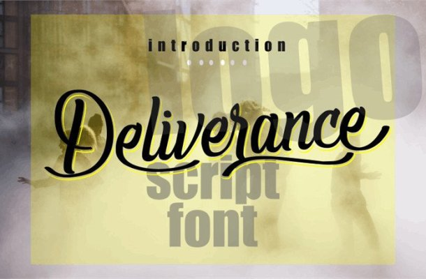 Deliverance Handwritten Font