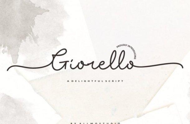 Giorello Script Demo Font