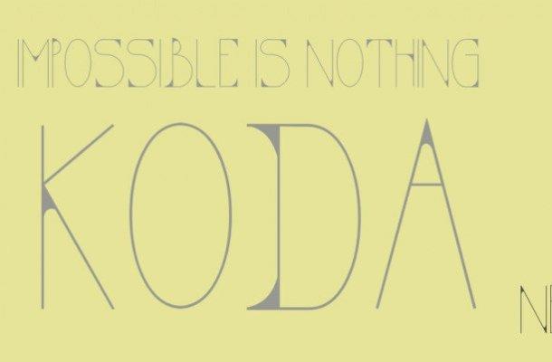 KODA Display Font