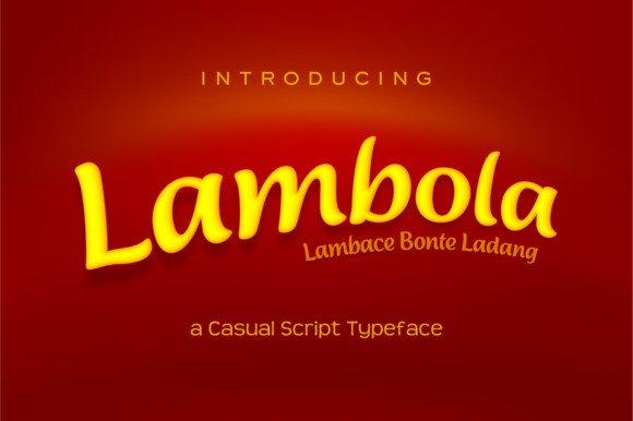 Lambola Font