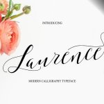 Laurance Calligraphy Font