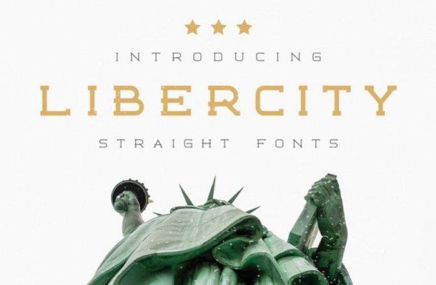 Libercity Slab Serif Font