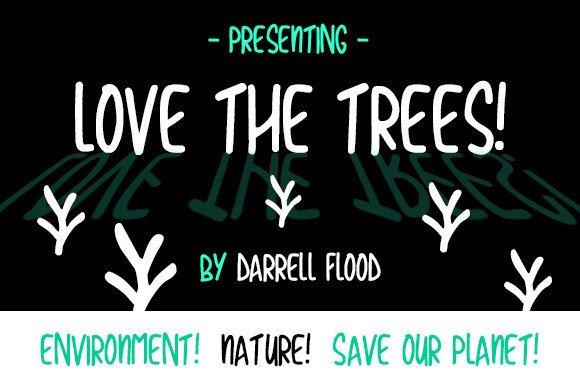 Love The Trees Script Font