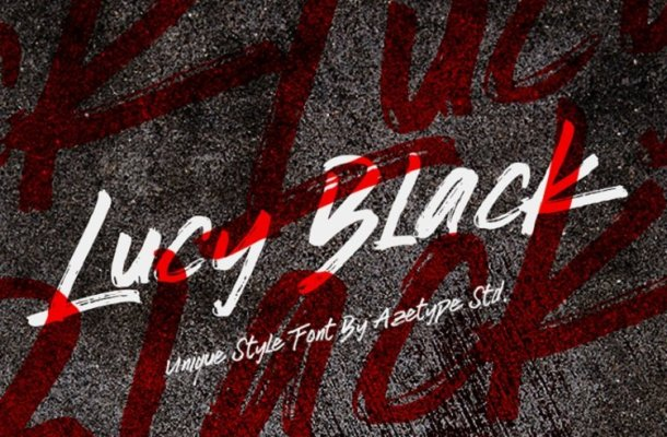 Lucy Black Font