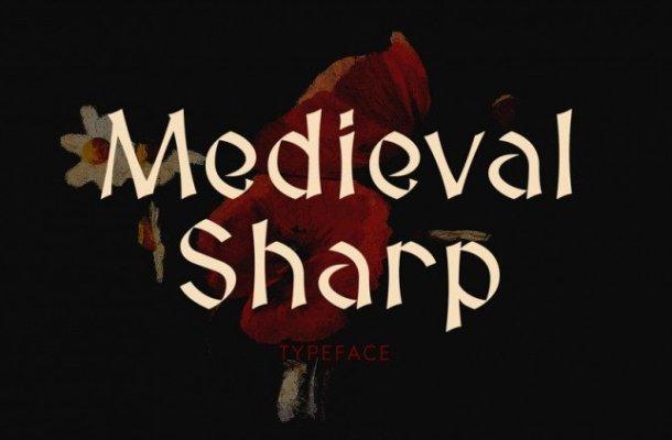 Medieval Sharp Typeface