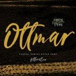 Ottmar Handwriting Font