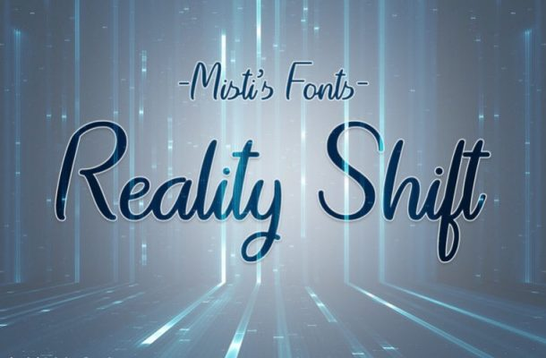 Reality Shift Handwritten Font