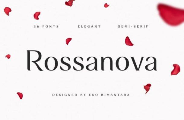 Rossanova Serif Font Family