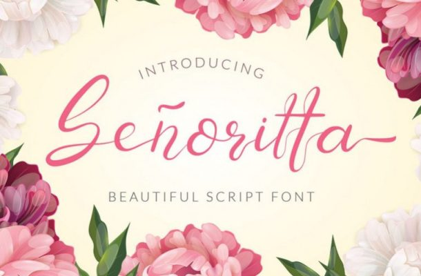Senoritta Handwritten Font