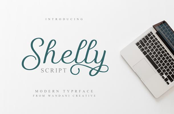 Shelly Script Font
