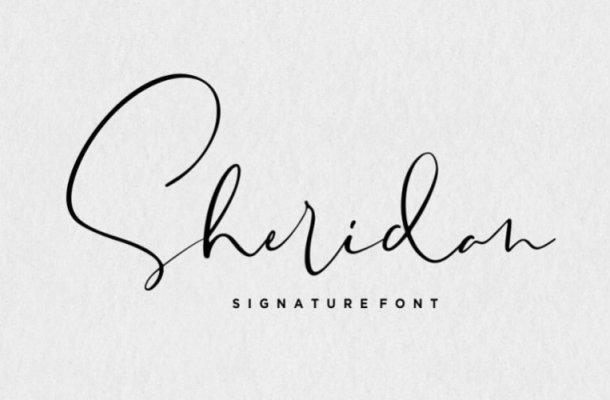 Sheridan Handwritten Font